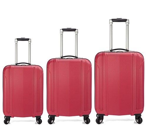Benzi - Juego de maletas (Rojo)