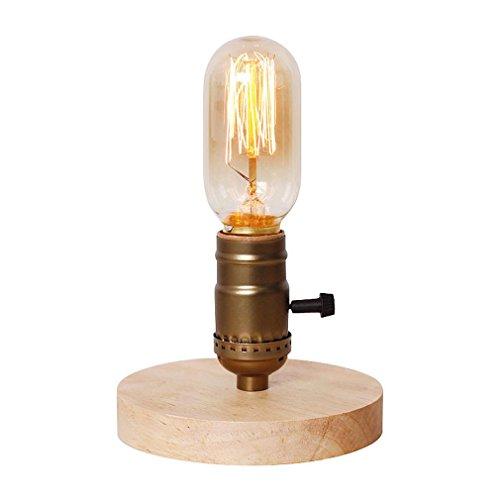 GRFH Decoración retro industrial del dormitorio de la lámpara del tubo del agua de la personalidad de Edison de la lámpara retro de la lámpara 12Cm * High 21Cm