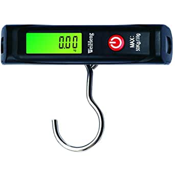 Weiheng WH-A12L Digital Heavy Duty Multipurpose Portable Weight Luggage Scale, 50kg