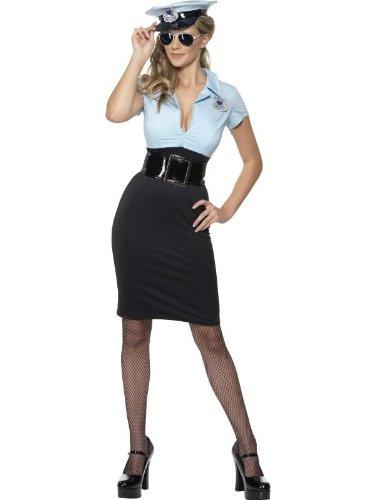 Kostüm Sexy Polizistin Polizeikostüm Polizei Gr. 40/42 (M), 44/46 (L), (Billig Polizei Kostüme)