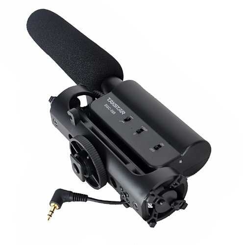 Takstar sgc-598 Intervista Microfono,Microfono Condensatore Cardioide Fotografia Intervista Registrazione per Canon Nikon fotocamera DSLR DV