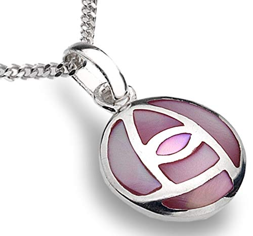 8fd087cb062d Sea Gems de plata de ley Mackintosh rosa madreperla lámpara de techo y 45