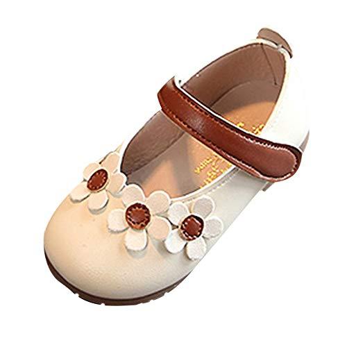 (Beikoard Kind Mädchen Jungen Flower Shallow Princess Single Tanz Freizeitschuhe Lederschuhe, einzelne Schuhe, Tanzschuhe Kinderschuhe Winter)