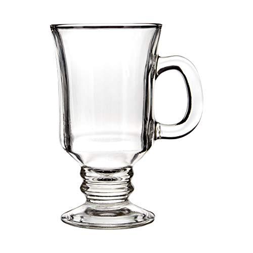 Premier Housewares 1405262 Irish Coffee Glasses-4er Set, Glas
