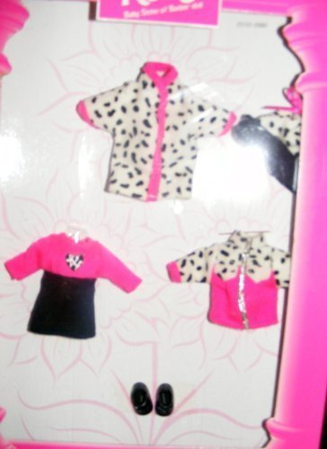 Kelly Doll Fashion Avenue Dalmation Winter Outfit Retired (1998) by Kelly (Dalmation Outfits)