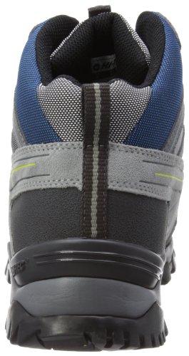 Hi-Tec Dekota WP Wandern Stiefel Grau (grey/blue/limoncello)