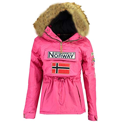 Geographical Norway Chaqueta NIÑA BOOMERA Rosa Llamativo 16