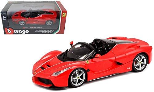 Bburago Maisto Francia–Vehículo Miniatura Ferrari Aperta (Escala 1/24, 26022, Rojo