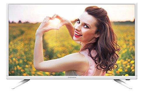 Thomson 40FB3105W 102 cm (40 Zoll) Fernseher (Full HD, Triple Tuner DVB-C/-T/S2) Performance Series Coaxial