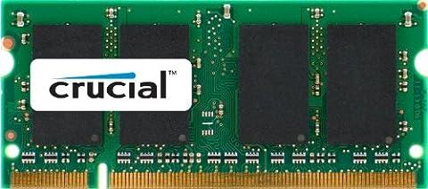 Crucial CL5 Mémoire RAM DDR2 2 Go PC2-5300 667 MHz
