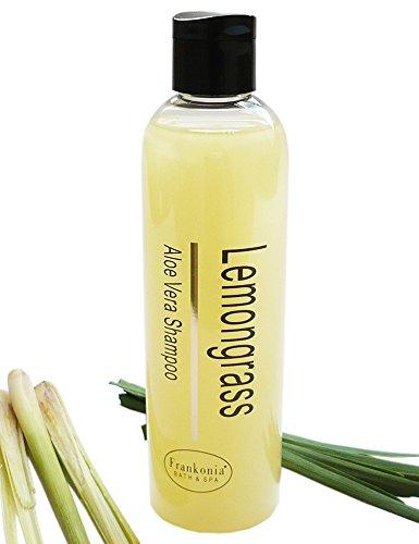 Lemongrass Shampoo mit Aloe Vera, Pflegeshampoo 250 ml