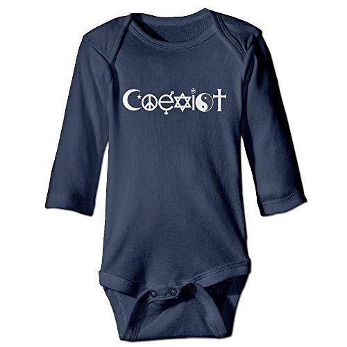 dsfsa Babybekleidung Coexist Baby Bodysuit - John Lewis Baby Kostüm
