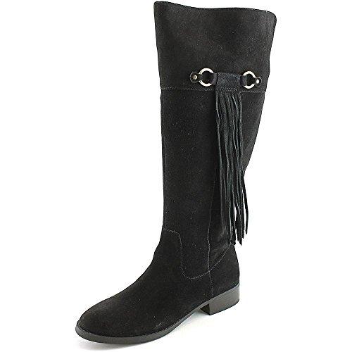 Concepts International hoch Calf Stiefel Mode INC Black Fayer Knie Wide Rund R7pZqZ