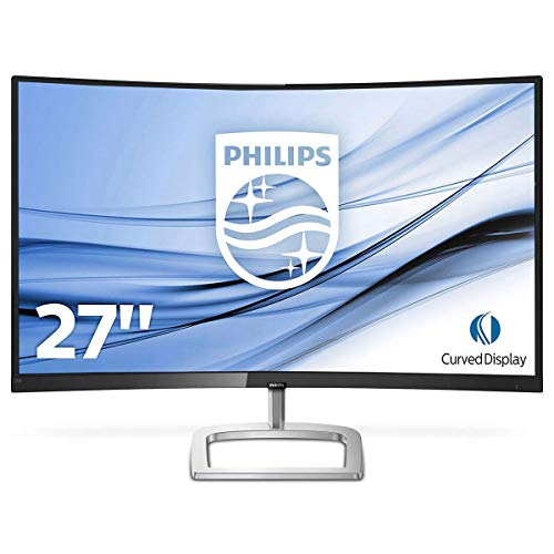 "Philips - Monitor (68,6 cm (27""), 1920 x 1080 Pixeles, Full HD, LCD, 4 ms, Negro, Plata)"