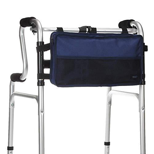 Walkers Sacos De Cadeira De Rodas de Bolso Scooter Elétrico Saco de Transporte Saco de Organizador Lateral Capa de Viagem Saco De Armazenamento de Malha para a Cama Da Motocicleta Trilhos