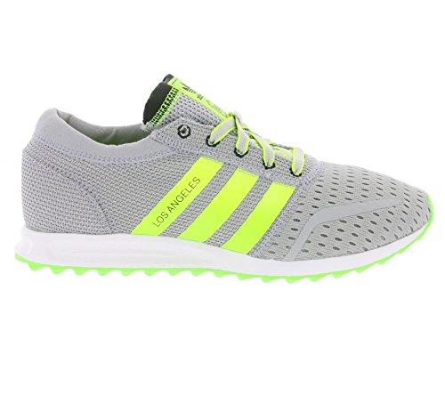 adidas Uomo Los Angeles scarpe sportive Grigio/giallo al neon
