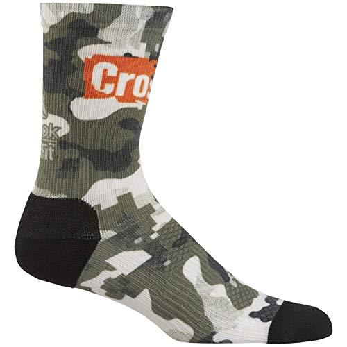 Reebok Crossfit Unisex Socken Printed Crew Socks Canopy Green 43-45