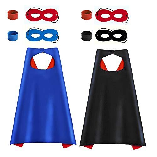 FUQUN Hero Capes und Masken – 70 cm -