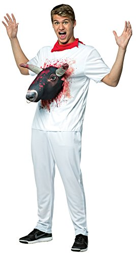 3-D Attacks - Bull Run-In Adult Costume