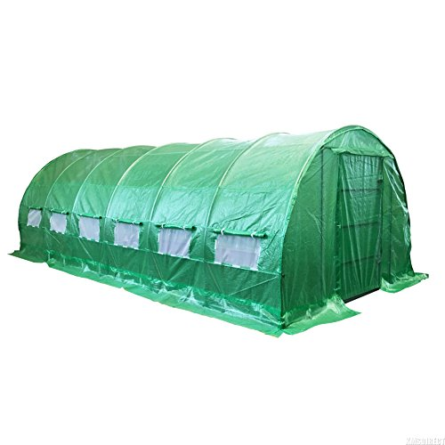 foxhunter-6ml-x-3mw-x-2mh-polytunnel-greenhouse-pollytunnel-poly-polly-tunnel-fully-galvanised-anti-