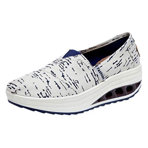 Sommer Sneaker Damen,Mode Sport Freizeitschuhe Casual Laufschuhe Thick Bottom Segeltuchschuhe Bequem Mesh Sportschuhe - Apple Bottom Sneakers