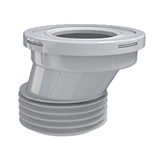 Bathroom Toilet WC Eccentric Extension Waste Pipe Connection Water Outlet