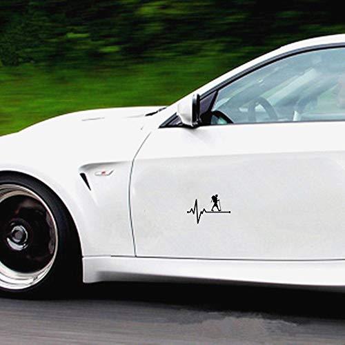 3d Aufkleber Auto Wandern des Mann-Lebensader-Herzschlags-Auto-Aufkleber-Abziehbild-Auto-Zusatz-Auto-Aufkleber