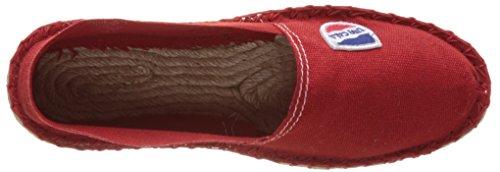 Cala Unisex-Erwachsene Classique Espadrilles Rot (Rot)