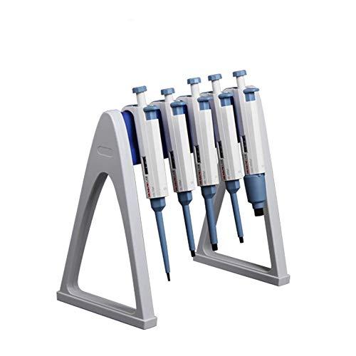 Laborpipettenständer, stabil für 6 Pipetten, praktischer linearer Pipettenständer und Gestell für das Labor