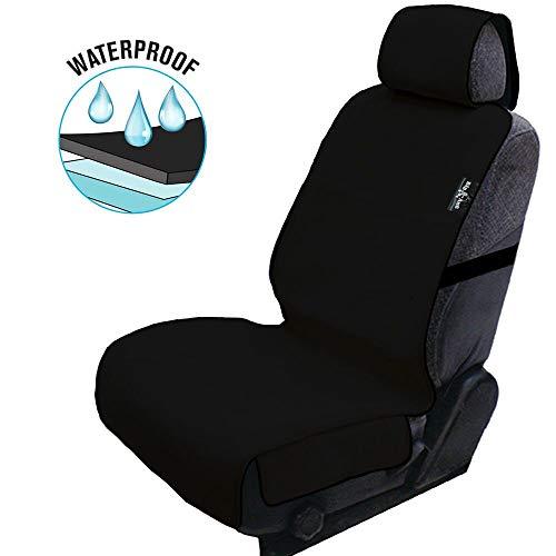 Big Ant Sitzbezüge Auto Wasserdicht Autositzbezug Neopren Sitzauflage Auto Autositzbezüge Schonbezug Sitzbezug für alle Autositz(Schwarz-1 Stück)
