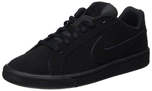 Nike Jungen Court Royale (GS) Gymnastikschuhe, Schwarz (Black Black 001), 36 EU (Jungen Sneakers Gs)