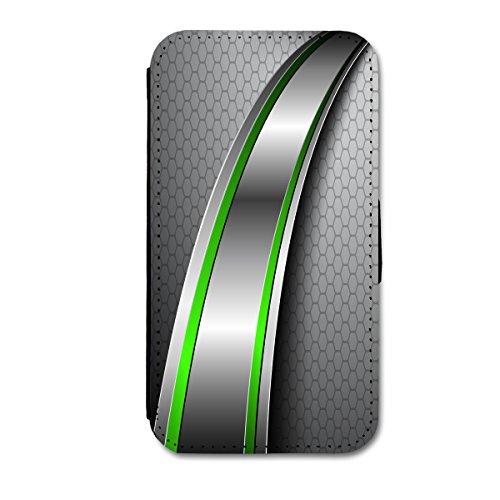 Book Style Flip Handy Tasche Case Schutz Hülle Schale Motiv Etui für Apple iPhone 4 / 4S - A46 Design10 Design 10