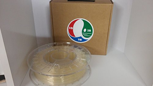 3r3dtm vollfarbendruck 3d Filament 1,75mm PLA 4043d 1kg netto, 1Kg Spool-bobina, Farbe Natur, 1