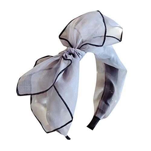 YWLINK Damen Mesh Mode Elegant Bogen Stirnband Bowknot-Haarnadeln MäDchen Haar Haarspangen Party...