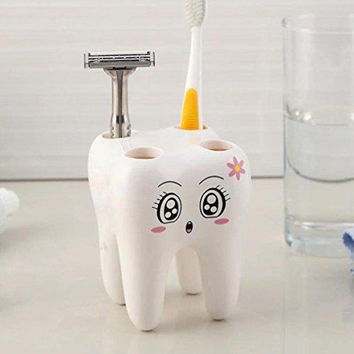 TAOtTAO Dental Zahnbürstenhalter Schöne Cartoon Zahnbürstenhalter Sanitärkeramik Dental