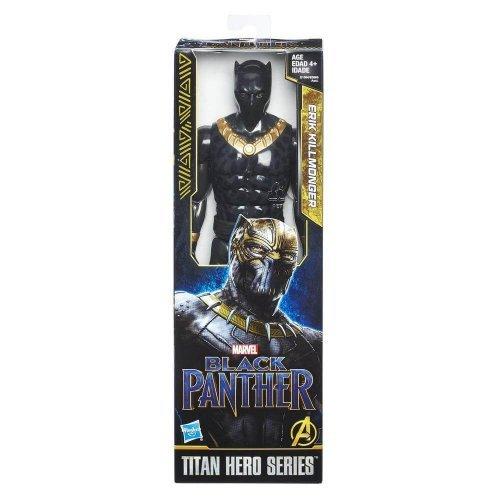 Black Panther - Figura Titan Hero de Erik...