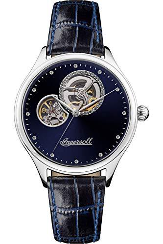 Ingersoll The Vamp Reloj para Mujer Analógico de Automático con Brazalete de Piel de Vaca I07002
