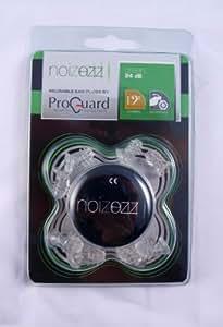Proguard Noizezz Bouchons d'oreilles atténuant le bruit pour musicien 24db