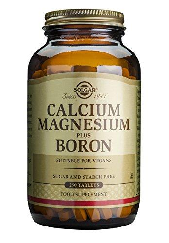 Solgar, Calcium Magnesium plus Boron Tablets, 250