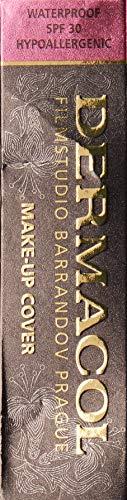 Dermacol DC Fondotinta a Copertura Totale | Correttore in Crema Impermeabile a Lunga Durata SPF30 | Concealer Ipoallergenico e Leggero | Copri Tattoo, Acne e Occhiaie | 30g (208)