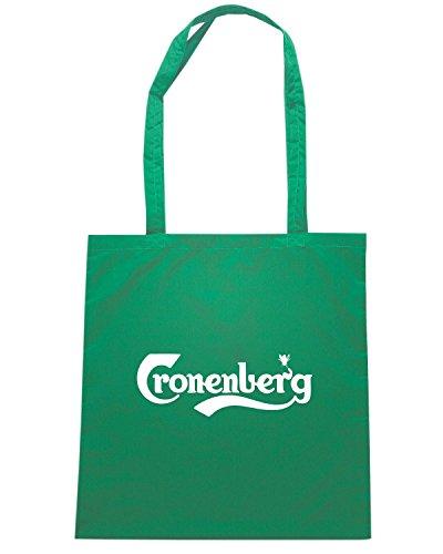 T-Shirtshock - Borsa Shopping BEER0047 Cronenberg Verde