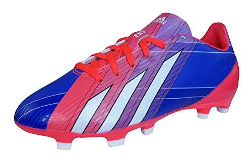 adidas F10 Trx Fg J, Chaussures de football garçon Rouge