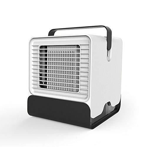 Mini condizionatore d'aria personale con umidificatore e purificatore d'aria, ventilatore USB portatile a basso rumore, per casa e ufficio Infradito colorati estivi, con finte perline