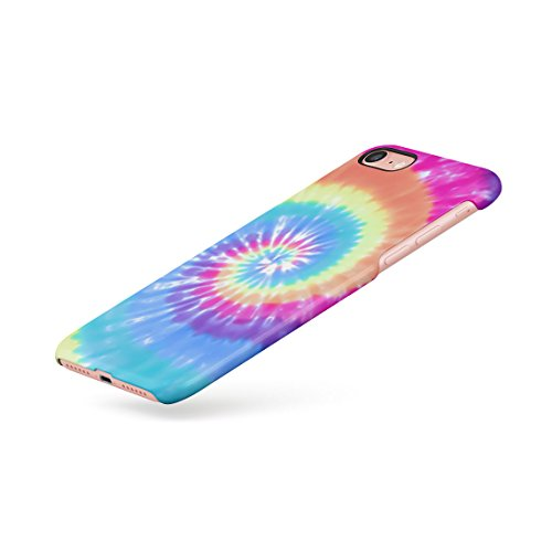 Holographic Water Print Tie Dye Rainbow Colorful Pale Rad Indie Boho Tumblr Custodia Posteriore Sottile In Plastica Rigida Cover Per iPhone 6 Plus & iPhone 6s Plus Slim Fit Hard Case Cover Trippy Swirl