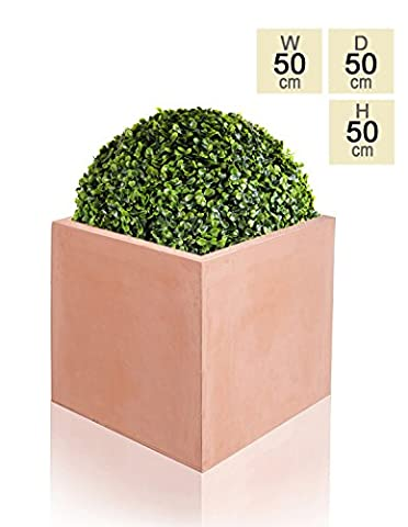 Fibrecotta Cube Planter – Extra