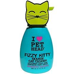 Pet Head Fizzy kitty Limpiador para gatos, 200 ml