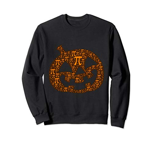 Halloween Math Pun Kürbis Pi Jack O' Laterne Lustiges Kostüm Sweatshirt (Kürbis Kostüm Pi)