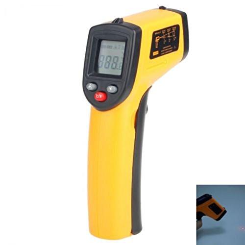 Himanjie®Infrarot Thermometer Laser Pyrometer -50 bis 330°C Infrarotmesspistole
