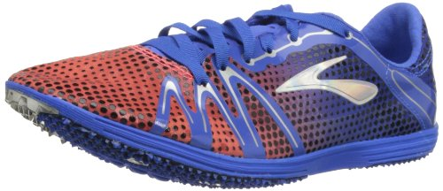 Brooks  The Wire 3,  Unisex - Erwachsene Leichtathletikschuhe Electric/Fiery Coral/Alloy