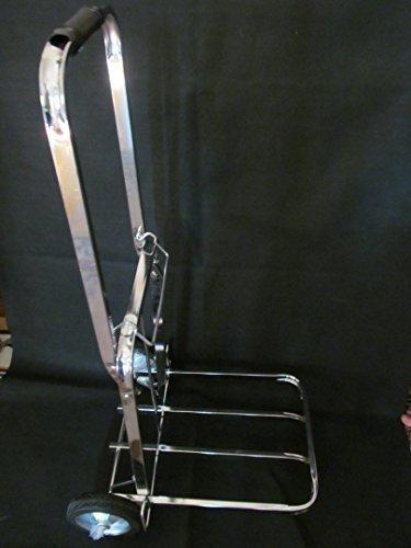 solide Poids léger résistant magasin vente au détail entrepôt pliante en métal Cadre en aluminium à main chariot Diable 90 kg Capacité avec Sandow – par Fat-catz-copy-catz